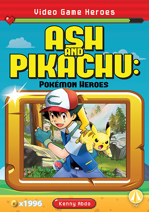 Cover: Ash and Pikachu: Pokémon Heroes