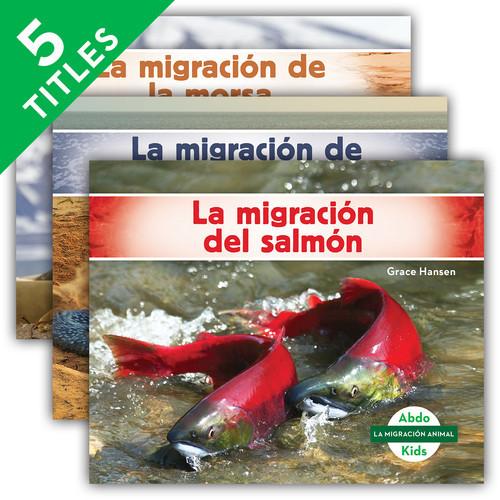 Cover: La migración animal (Animal Migration) (Spanish Version)