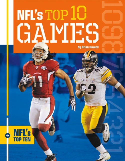 Cover: NFL's Top 10 Games