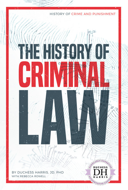 Cover: The History of Criminal Law