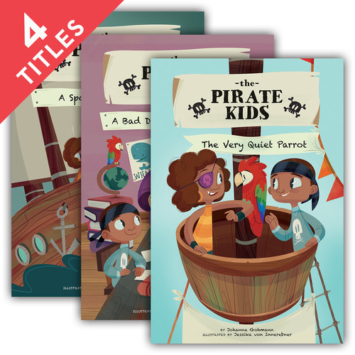 Cover: The Pirate Kids