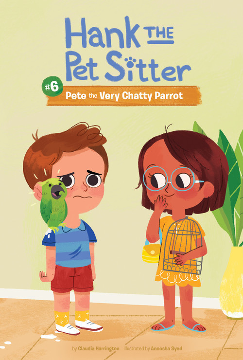 Cover: Book 6: Pete the Very Chatty Parrot