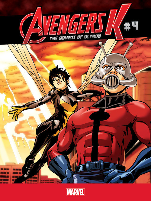 Cover: The Advent Of Ultron #4