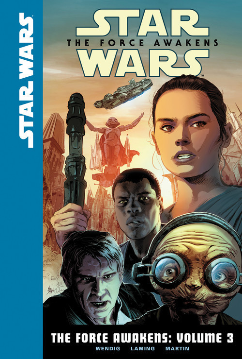 Cover: The Force Awakens: Volume 3