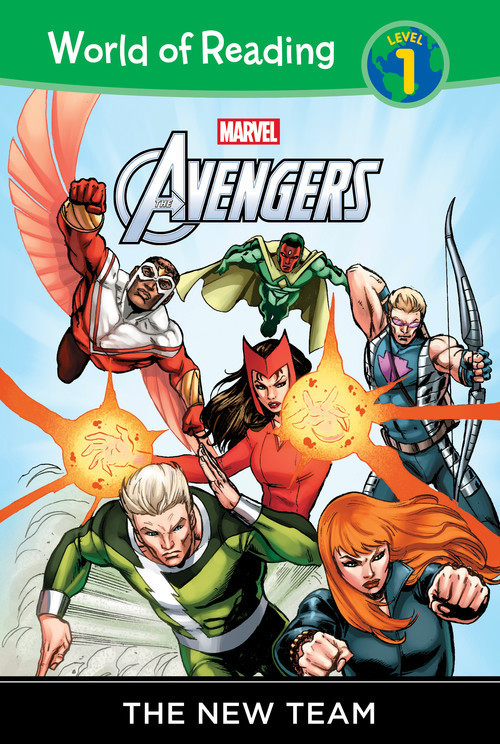 Cover: The Avengers: The New Team