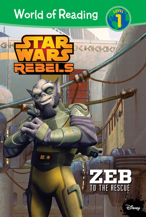 Cover: Star Wars Rebels: Zeb to the Rescue