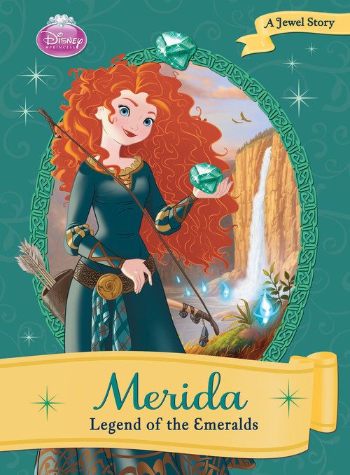 Cover: Merida: Legend of the Emeralds