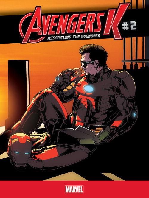 Cover: Assembling the Avengers #2