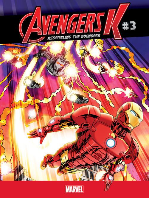 Cover: Assembling the Avengers #3