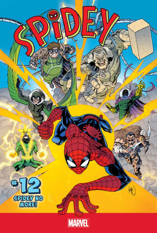 Cover: Spidey #12: Spidey No More!