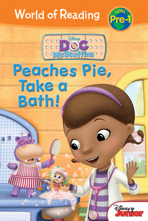 Cover: Doc McStuffins: Peaches Pie, Take a Bath!