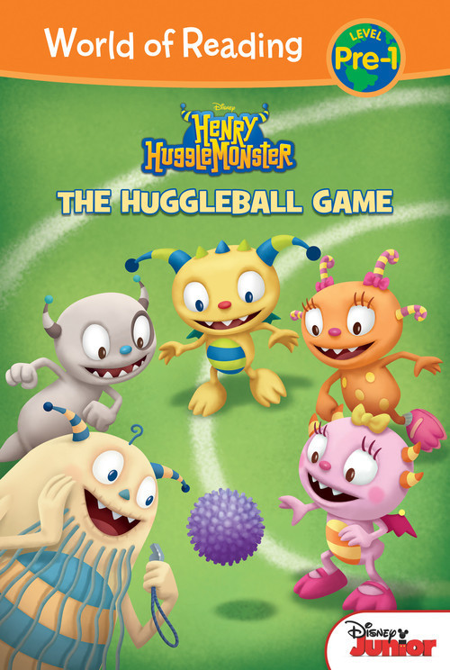 Cover: Henry Hugglemonster: The Huggleball Game