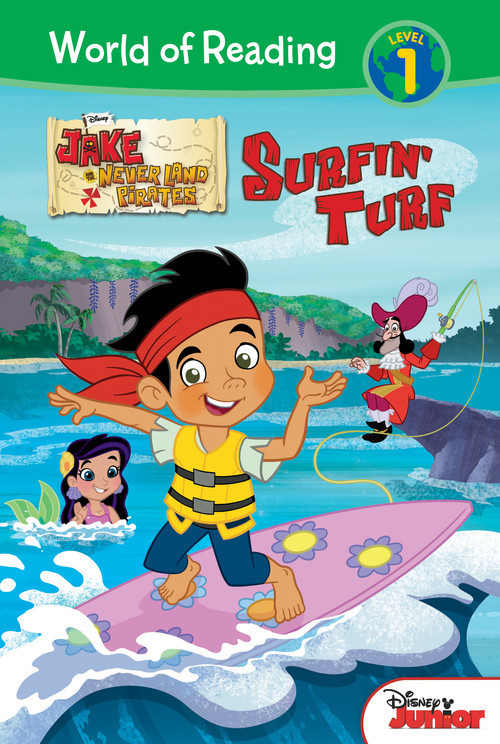 Cover: Jake and the Never Land Pirates: Surfin' Turf