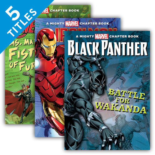 Cover: Mighty Marvel Chapter Books Set 2