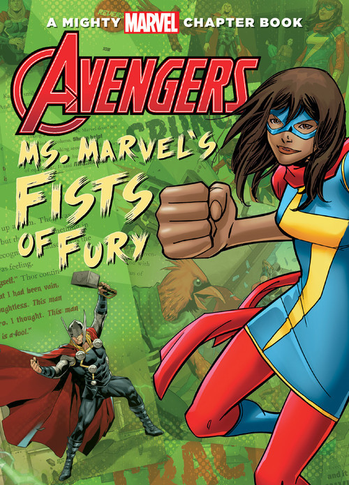Cover: Avengers: Ms. Marvel's Fists of Fury