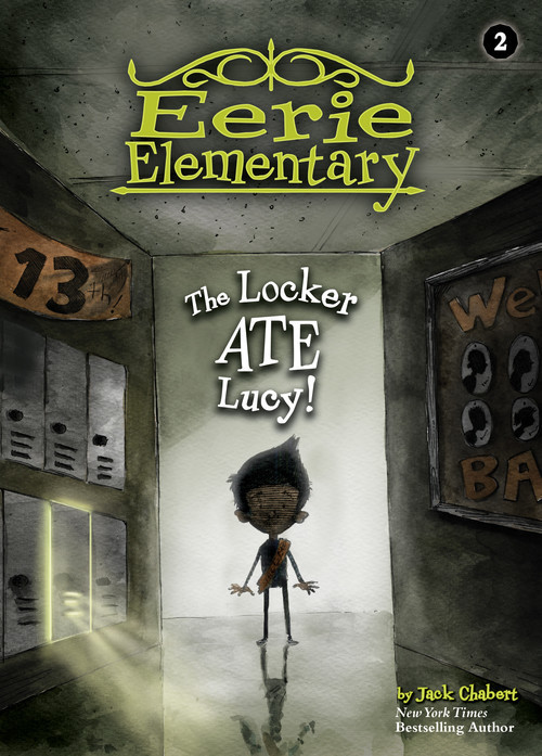 Cover: The Locker Ate Lucy!: #2