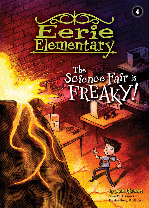 Cover: The Science Fair is Freaky!: #4