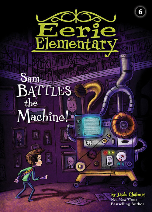 Cover: Sam Battles the Machine!: #6