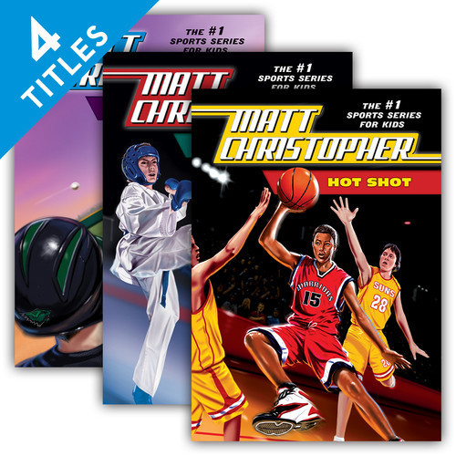 Cover: Matt Christopher: The #1 Sports Series for Kids