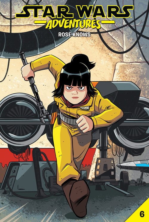 Cover: Star Wars Adventures #6: Rose Knows