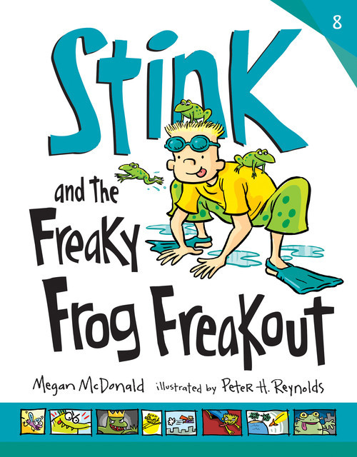 Cover: Stink and the Freaky Frog Freakout