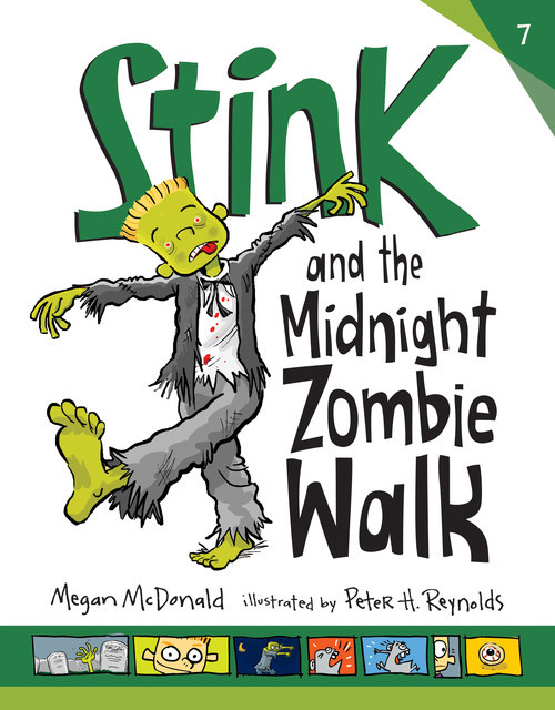Cover: Stink and the Midnight Zombie Walk