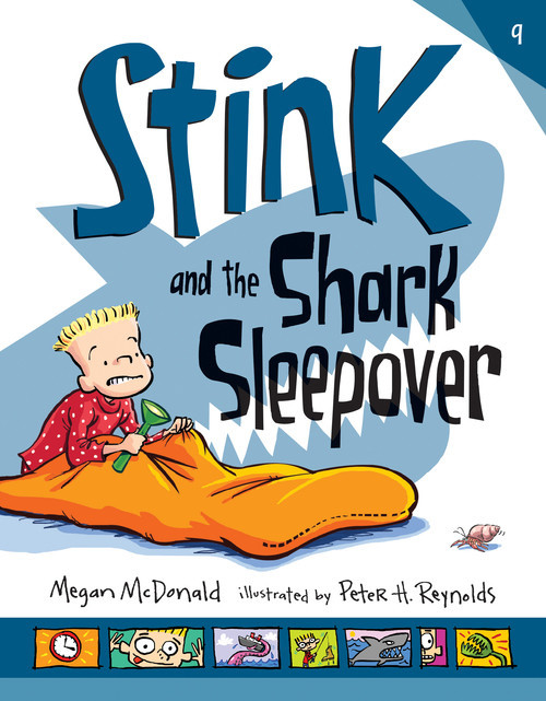 Cover: Stink and the Shark Sleepover