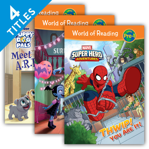 Cover: World of Reading Level Pre-1 Set 4