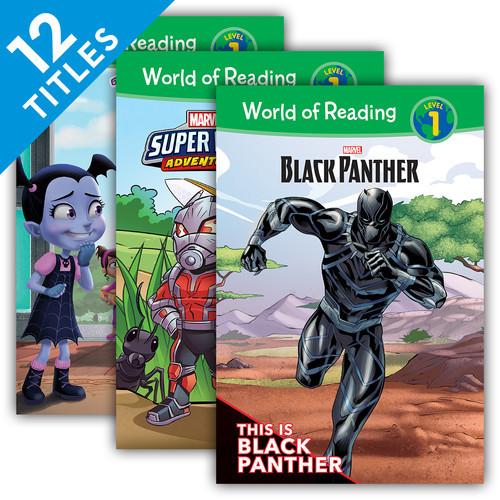 Cover: World of Reading Level 1 Set 6