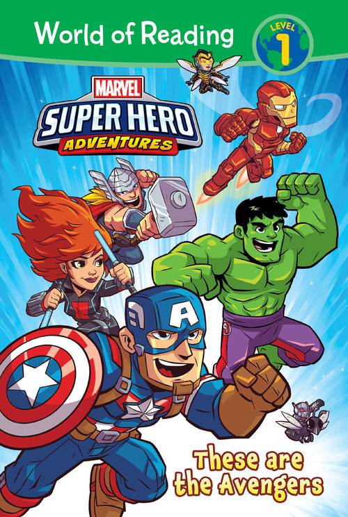 Cover: Marvel Super Hero Adventures: These are the Avengers