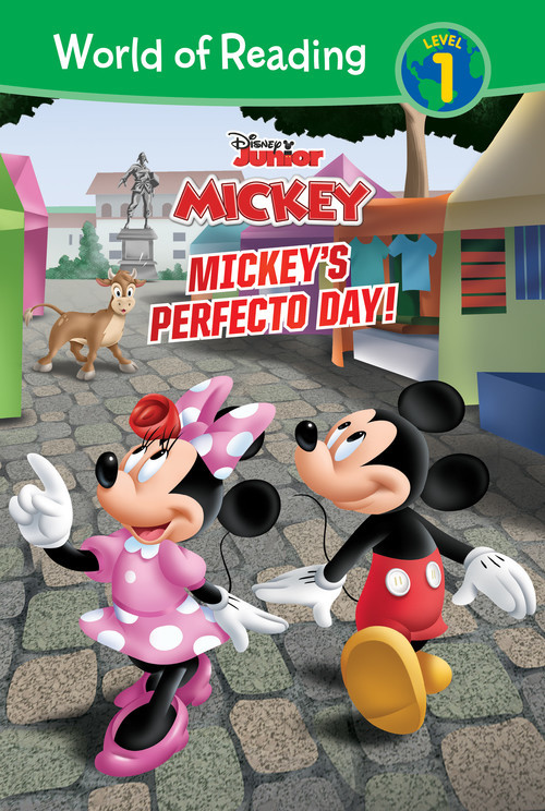 Cover: Mickey Mouse Roadster Racers: Mickey's Perfecto Day!