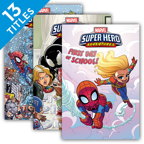 Cover: Marvel Super Hero Adventures Graphic Novels