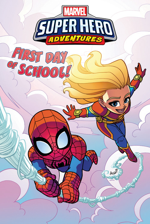 Cover: Captain Marvel: First Day of School!