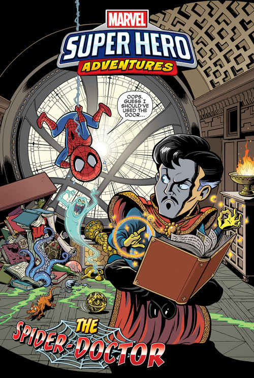Cover: The Spider-Doctor