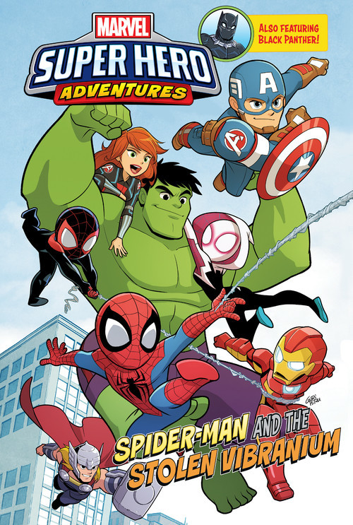 Cover: Spider-Man and the Stolen Vibranium