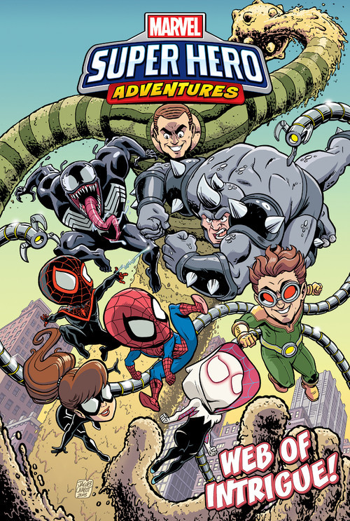 Cover: Spider-Man: Web of Intrigue!