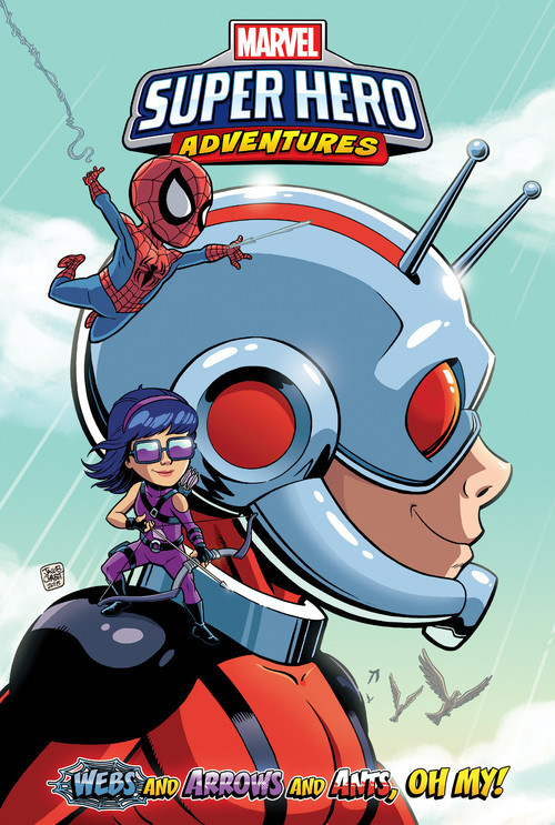 Cover: Webs and Arrows and Ants, Oh My!