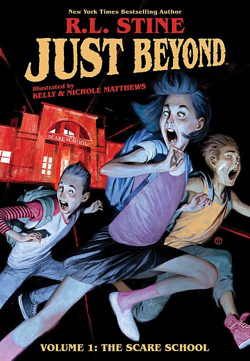 Cover: Volume 1: The Scare School