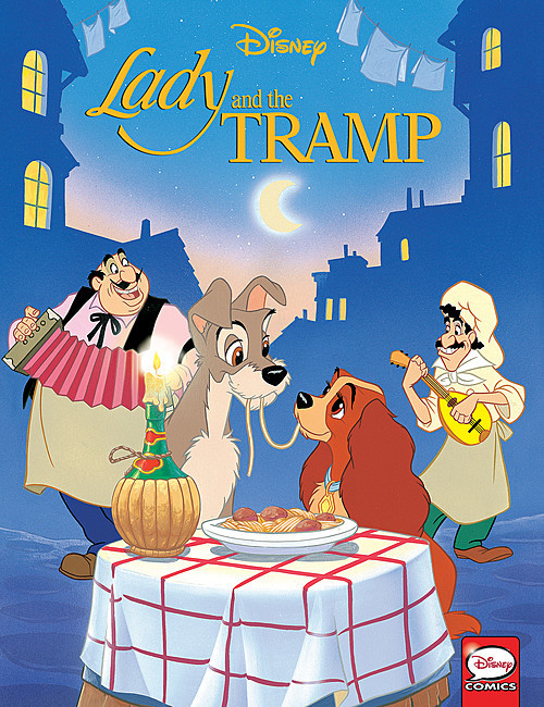 Cover: Lady and the Tramp