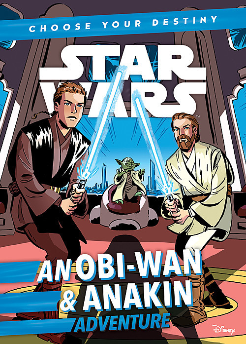 Cover: An Obi-Wan & Anakin Adventure