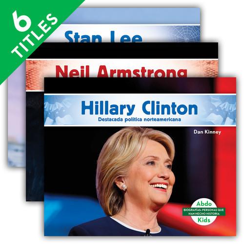 Cover: Biografías: Personas que han hecho historia (History Maker Biographies Set 3)