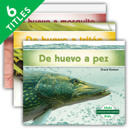 Cover: Animales que cambian (Changing Animals Set 2)