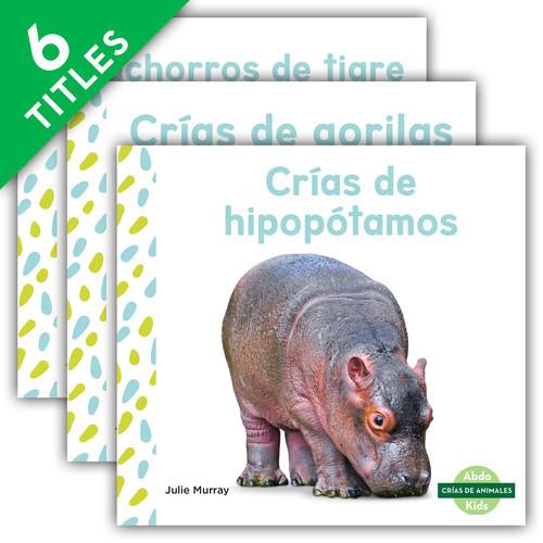 Cover: Crías de animales (Baby Animals Set 2) (Spanish Version)