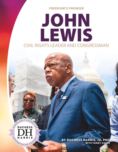 Cover: John Lewis: Civil Rights Leader and Congressman