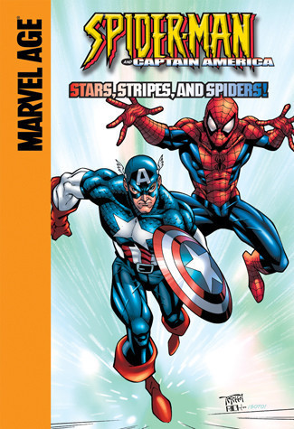 Cover: Captain America: Stars, Stripes, and Spiders!