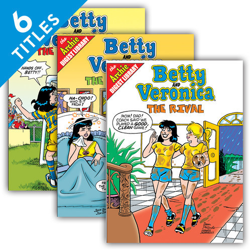 Cover: Betty and Veronica
