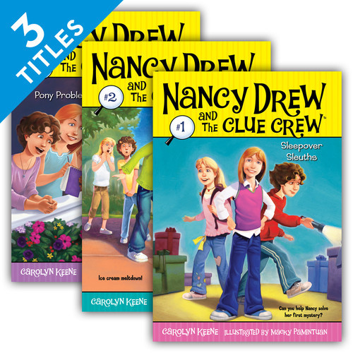 Cover: Nancy Drew & the Clue Crew Set 1