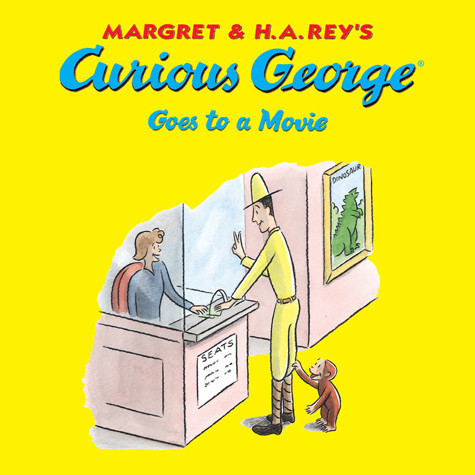 Cover: Curious George Goes to a Movie