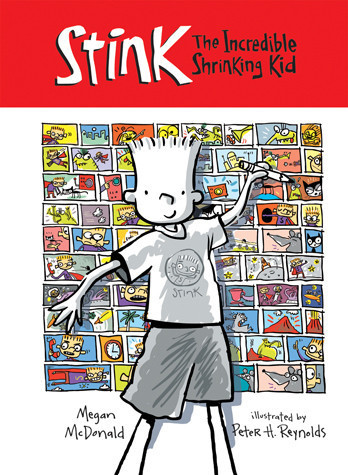 Cover: Stink: The Incredible Shrinking Kid