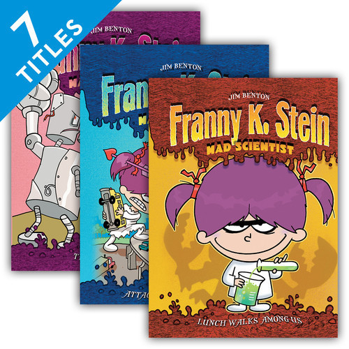 Cover: Franny K. Stein, Mad Scientist